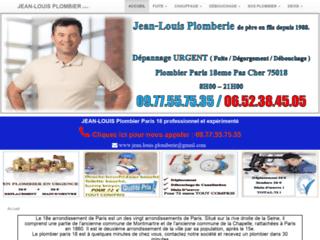 Plombier expert de la société Jeans Louis Plomberie