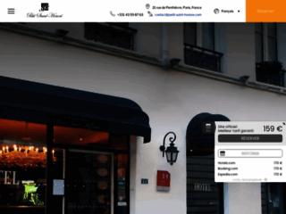 Détails : Un hotel proche des champs Elysées, bon rapport qualité prix
