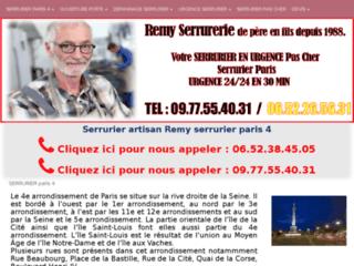 Jean-Yannick Serrurerie, des travaux de serrurerie de qualité pas cher dans Paris 4