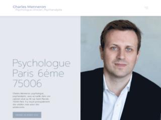 Psychologue clinicien et psychanalyste à Paris 6