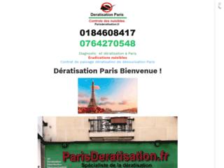 Parisderatisation est un prestataire de service de nettoyage 3D dératisation code APE NAF 8129A