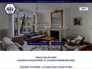 Parlez-moi de Paris, votre chasseur immobilier sur Paris
