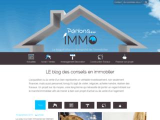 Parlons Immo, le blog pour vos projets immobiliers