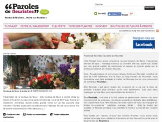 Détails : Paroles de fleuristes