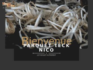 Détails : Parquet Teck Nico en Vendée