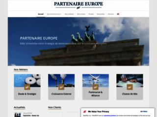 Détails : Partenaire Europe