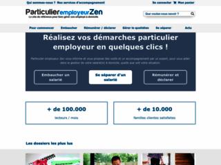 Détails : Particulier Employeur ZEN