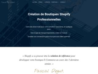 Pascaldegut.com : consultant formateur en web design