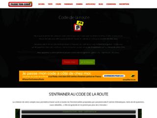 Détails : Code de la route avec Passe Ton Code