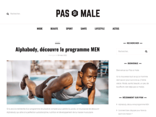Pas Si Male, un guide pour l'homme moderne