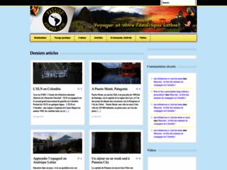 Détails : Voyager et vivre l'Amérique Latine !