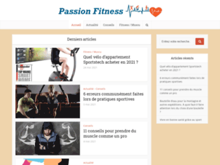 Passion sport et fitness