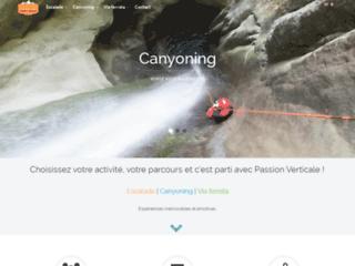 Passion Verticale - Escalade, Canyoning, Via ferrata