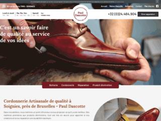 Cordonnerie à Soignies - Réparation chaussures Bruxelles