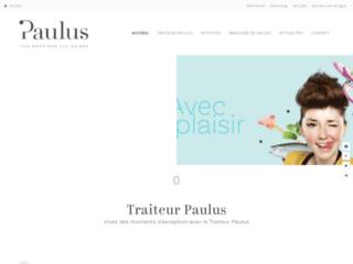 Paulus, le service traiteur sur mesure pour tous les événements