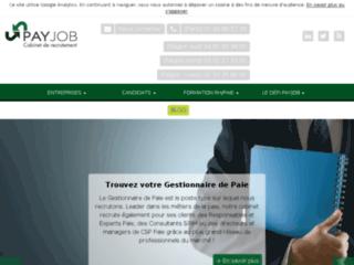 Détails : Pay Job, recrutement, intérim et formation paie