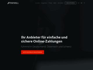Détails : Paymill, le service de paiement en ligne qui vous comble