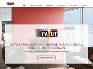 Cheminées Payot, spécialiste du chauffage bois près de Besançon