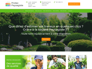 Détails : paysagiste professionnel en île de France