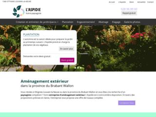 Aménagement extérieur dans la province du Brabant Wallon