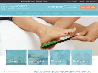 Pédicure podologue à Champs-sur-Marnes