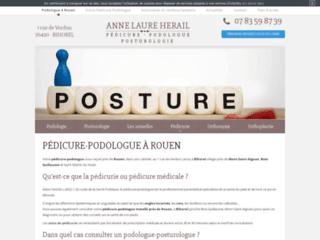 Podologue pédicure Hérail à Rouen
