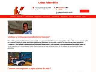 Détails : Société de peinture et de décoration en île de France