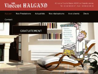 Détails : Halgand, travaux de peinture et décoration, La Chapelle-Launay
