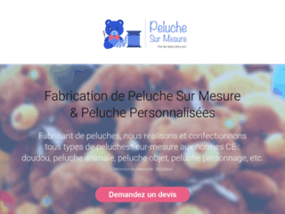 Fabricant Peluche – Création Peluche