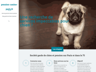 Pension canine sur Paris