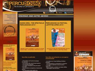 Détails : PercuSound - Ecole de percussions, djembé, doums, chants