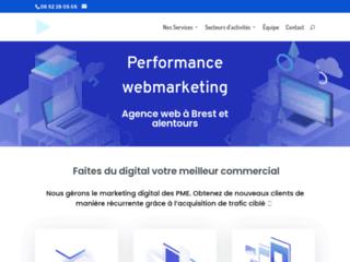 Performance webmarketing : agence webmarketing à Brest, un service de qualité
