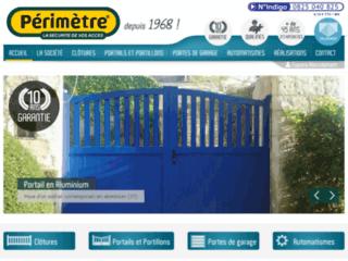 Périmètre : Pose de portails et clôtures en Indre et Loire (37)
