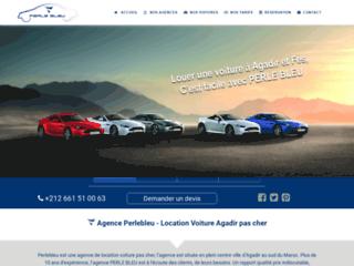 Détails : Location voiture agadir par l'agence Perlebleu Tours