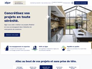 Service facile d'obtention du permis de construire en France