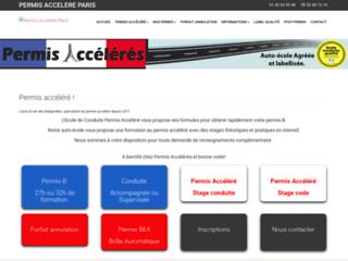 Détails : Permis Accélérés Paris