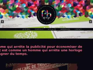 Création graphique de site internet - Oise
