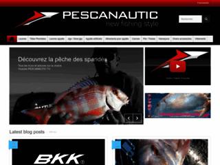 Pescanautic, achetez des leurres-appâts pour la pêche