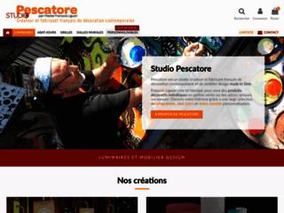 Détails : PESCATORE, créateur de décorations design