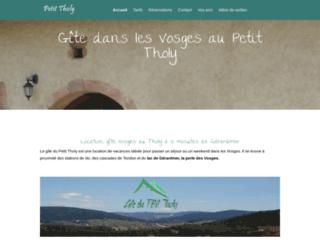 Détails : Location gîte au Tholy (Vosges)
