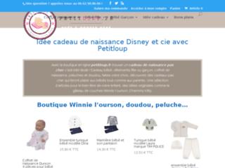 Détails : Idée cadeau de naissance originale sur Petitloup.fr
