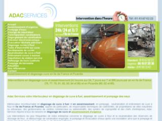 Détails : Adac Pétrole Services Dépollution Eaux Résidus Pétroliers