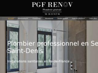 Plomberie : PGF Rénov à Bobigny 93