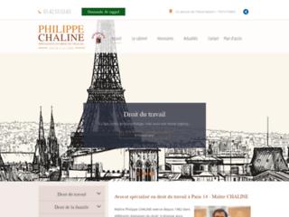 Maître Philippe CHALINE, avocat à Paris 14