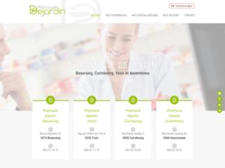 Pharmacies Dejardin à Beauraing, Yvoir, Anseremme et Carlsbourg