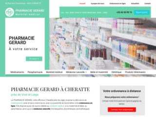 Pharmacie GERARD à Cheratte près de Visé et Liège