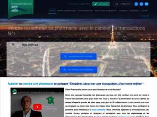 Pharmathèque, votre vente de pharmacies