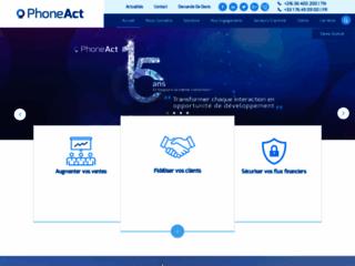 Détails : phoneAct : centre d'appel en Tunisie