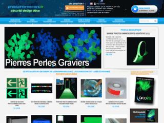 Détails : Pigments phosphorescents