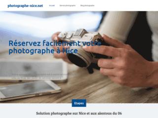 Photographe dans la ville de Nice